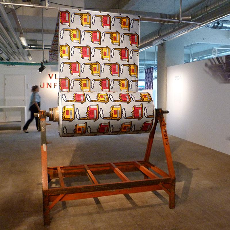 L'Usine textile de Vlisco (Pays-bas)