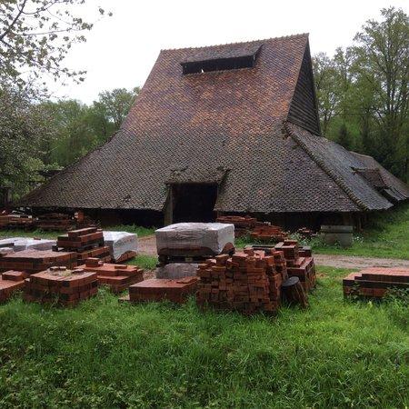 La dernière briquetterie de L'Hôme Chaumondot