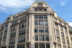 Derniers vestiges des bâtiments des Douanes à Paris