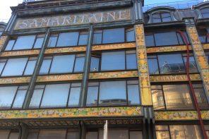 Façade historique de la Samaritaine (Paris 1)