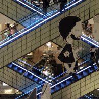 Escalier central du Bon Marché (Paris 6)