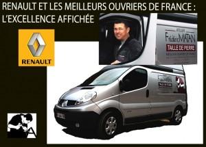 Renault meilleur ouvrier de France!