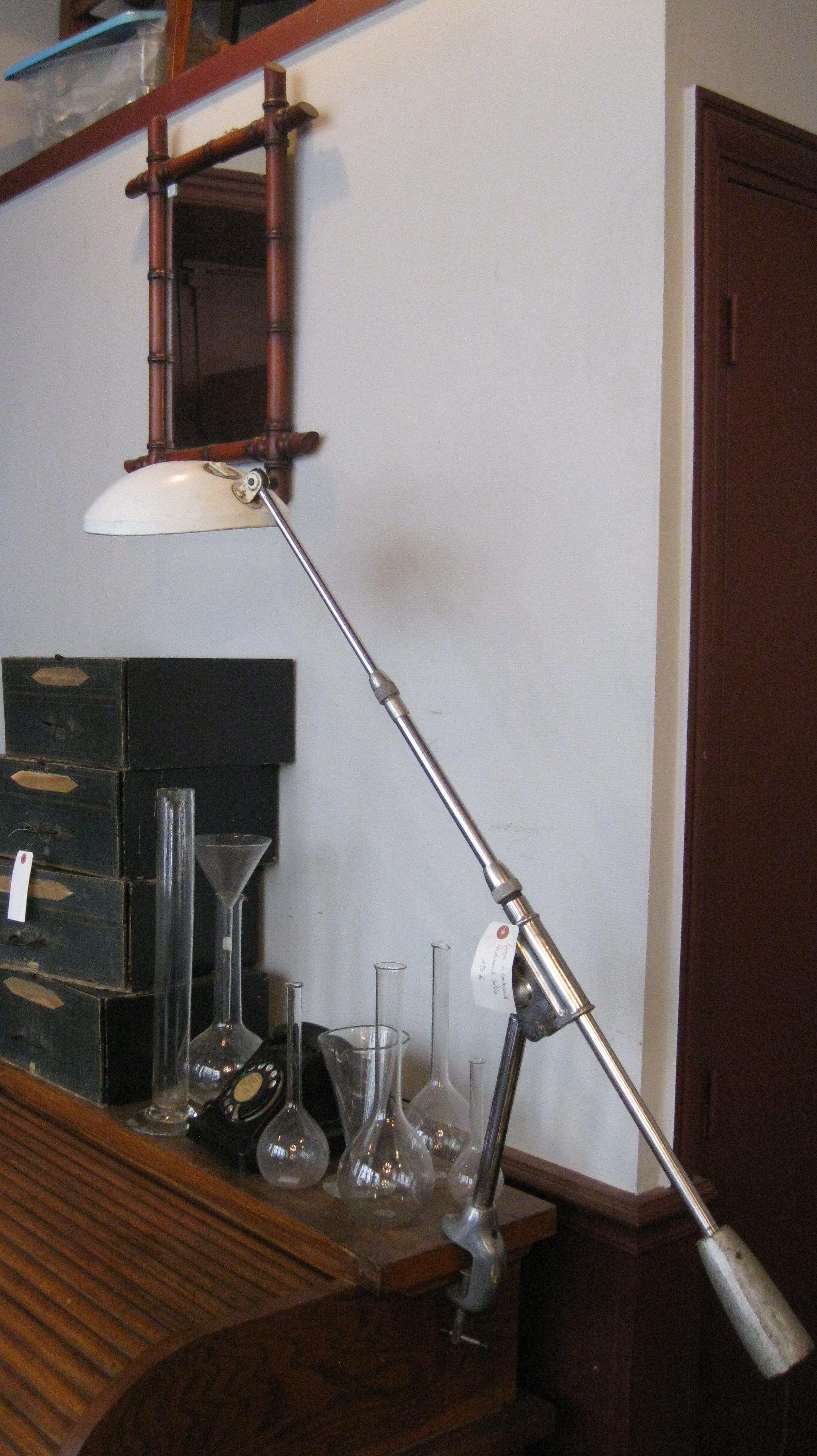 Lampe SolR avec contrepoids (Broc Martel)