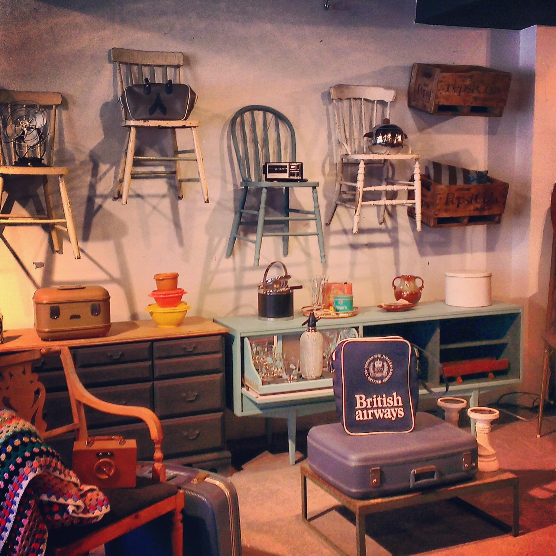 Vintage et objets industriels à Montréal