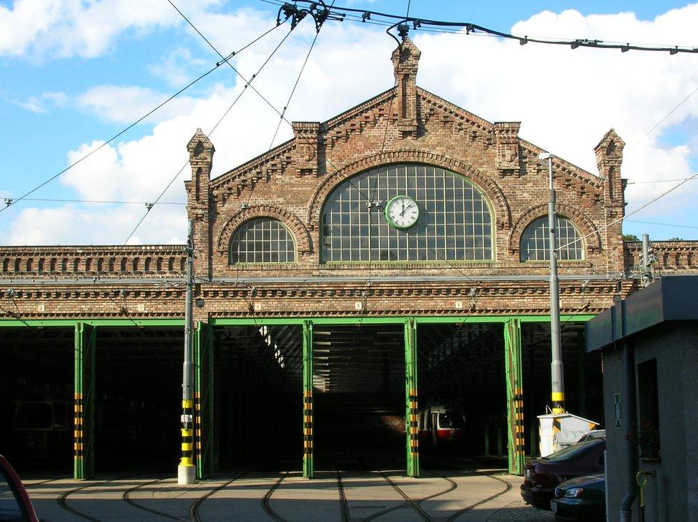 depot tram