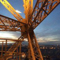 Détail structure de la Tour Eiffel