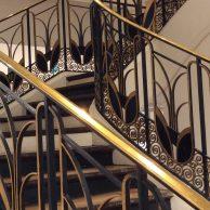 Détail escalier Le Bon Marché Paris 6