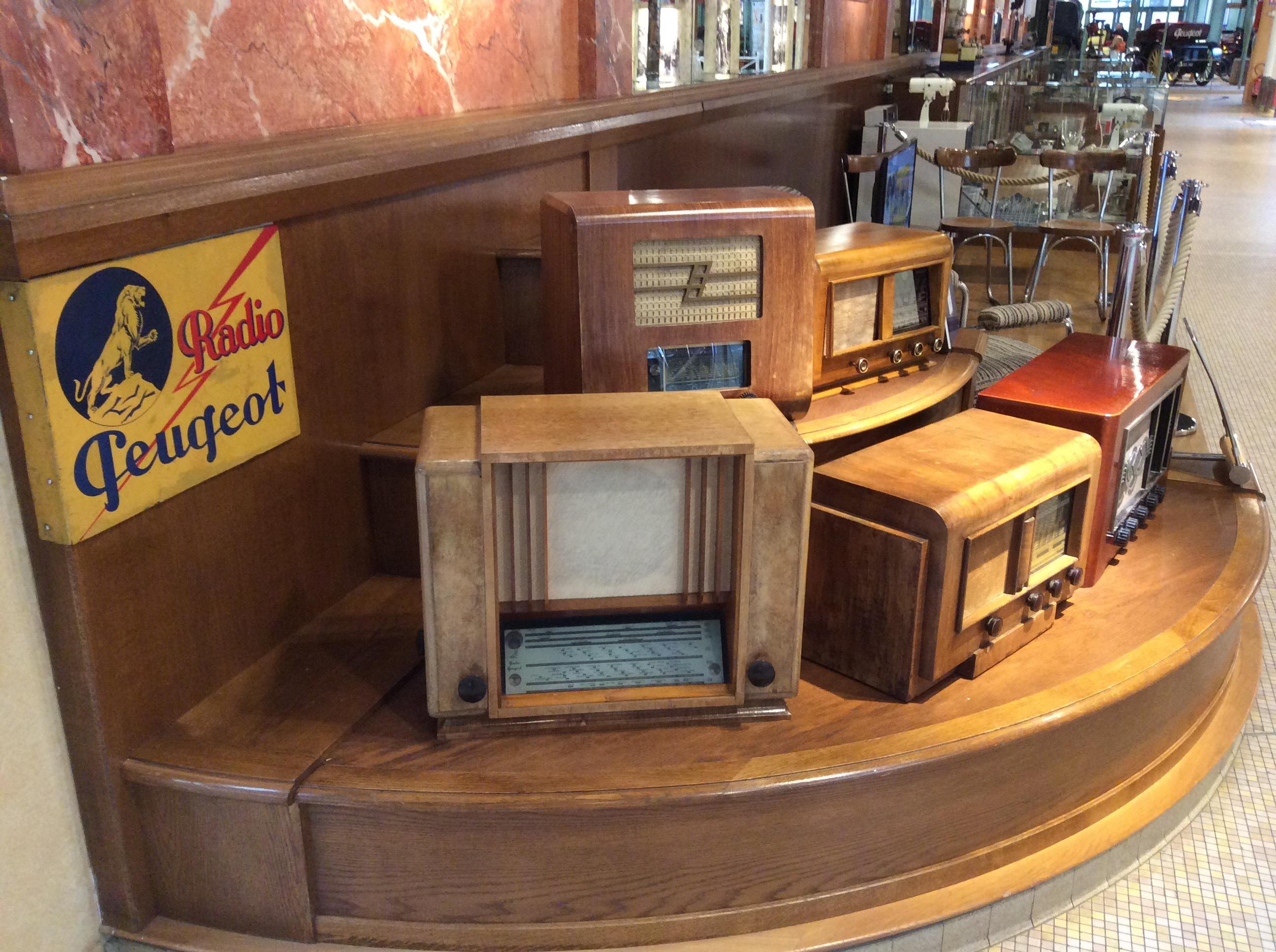 Les premières radio Peugeot