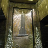 Hall de l'Empire State Building à NY