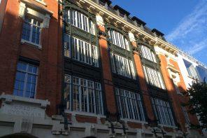 Facade du Credit Lyonnais Paris 2