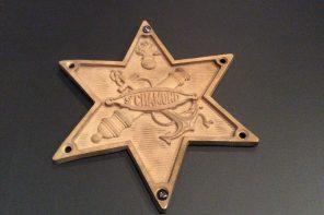 Emblème de la fonderie de St Chamond